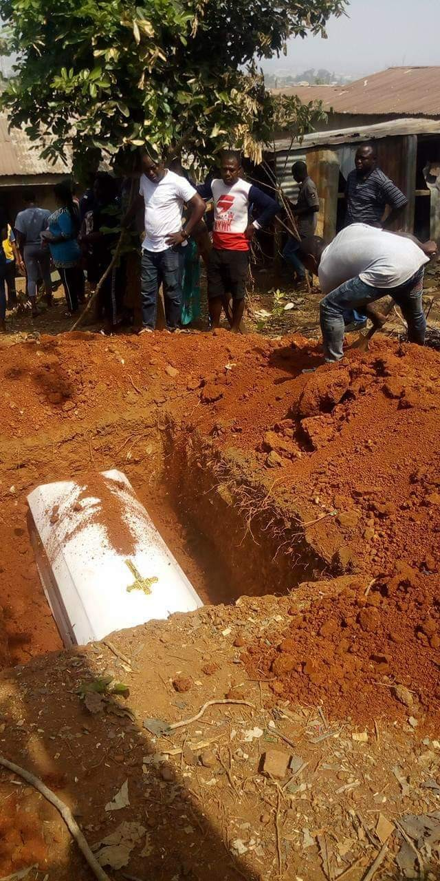 """This world is wicked"" - Friends, family mourn Ekiti councilor shot dead by gunmen as he is laid to rest"
