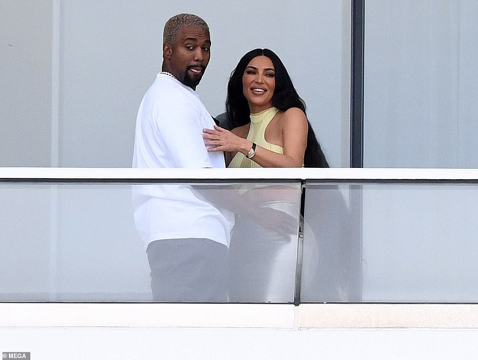 Kim Kardashian & Kanye West pack on the PDA at the $14m Miami condo they just bought (Photos)