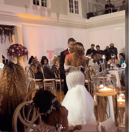 US rapper Juelz Santana quickly marries his fiance Kimbella ahead of his 2-year prison sentence (Photos)