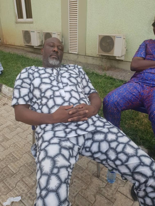 Update: Dino Melaye moved to SSS medical facility (photos)