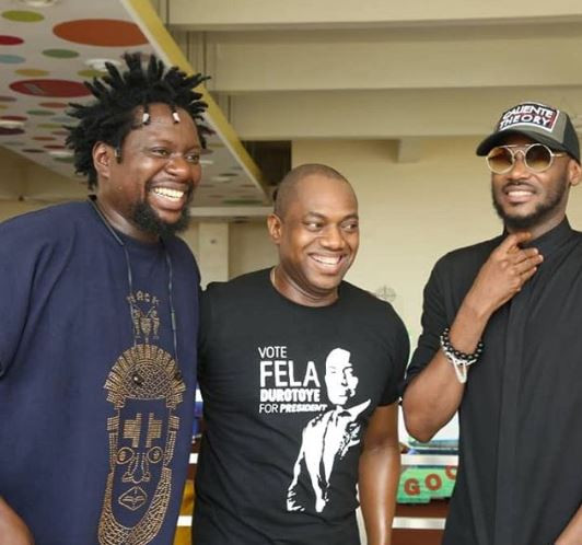 Photos: Fela Durotoye attends 2face Idibia
