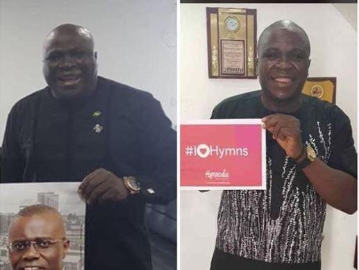 Nigerian comedian,?Gbenga Adeyinka shares amazing weight loss photo