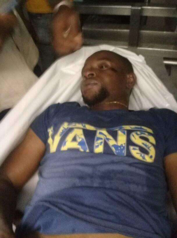 Photos/Videos: Nigerian man allegedly dies of overdose during drug raid in South Africa; fellow Nigerians accuse police of beating him to death