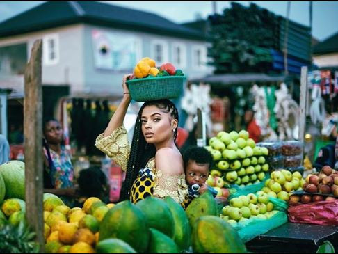 To celebrate her birthday, Lola Rae shares lovely photos of her baby with Tekno