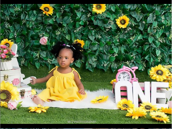 Yomi Casual and wife celebrate their daughter