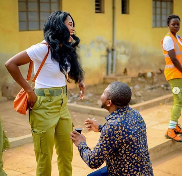 Photos: Lady set to marry man who sent her a DM she responded to