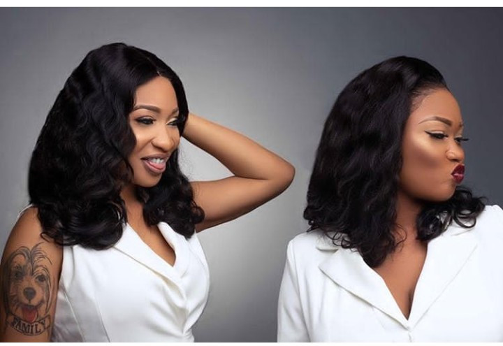 Tonto Dikeh launches her new luxury hair line called