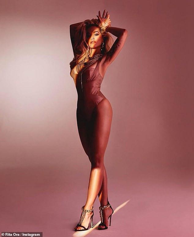 Rita Ora strikes suggestive poses in new sexy photos
