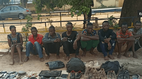 Suspected armed robbers rape 50 year old woman in Benue (photo)