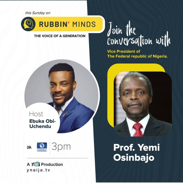 VP Yemi Osinbajo comes under heavy attack for missing live interview on #RubbingMinds