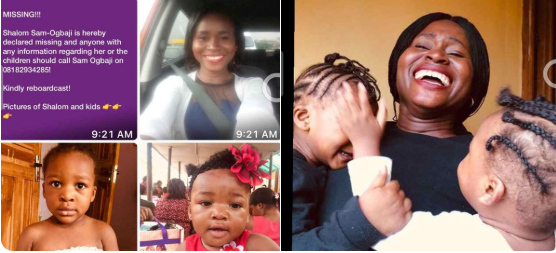 Update: Woman declared missing with her two kids allegedly fled home to escape from her abusive husband