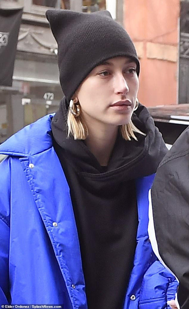 Justin Bieber and Hailey Baldwin are all smiles as they step out in NYC after