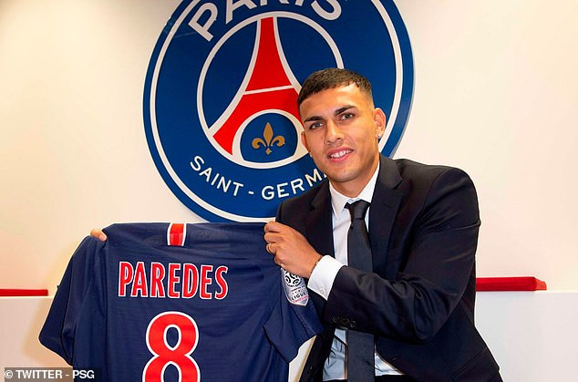French giant, PSG complete signing of Zenit St Petersburg midfielder Leandro Paredes on four-and-a-half year deal