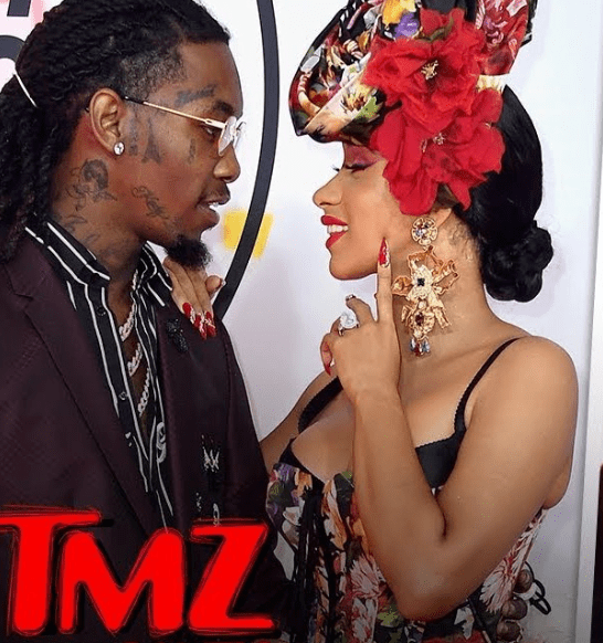 Cardi B calls out TMZ on Twitter over Offset reunion report