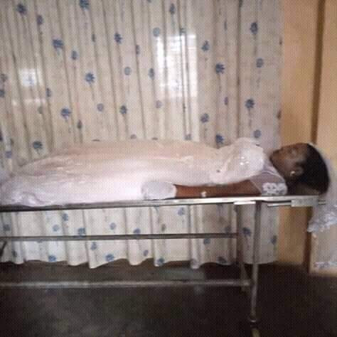 Photos: UNICAL fresh graduate who died few days to her wedding has been buried in her wedding dress and on her wedding day