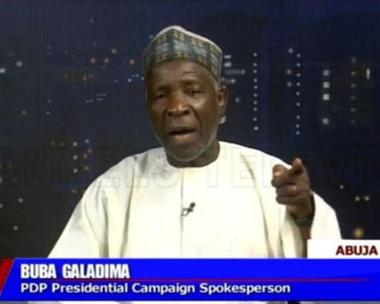 Local Goverments were paid about N20million to ?purchase? people for President Buhari?s rallies - Buba?Galadima alleges