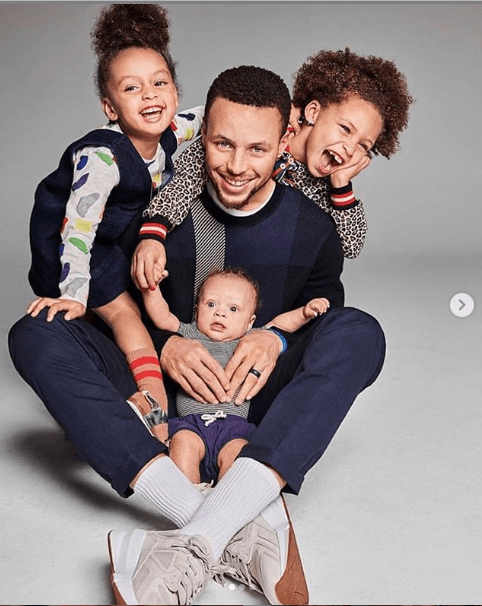 NBA star Stephen Curry and his cute family cover Parents magazine?(Photos)