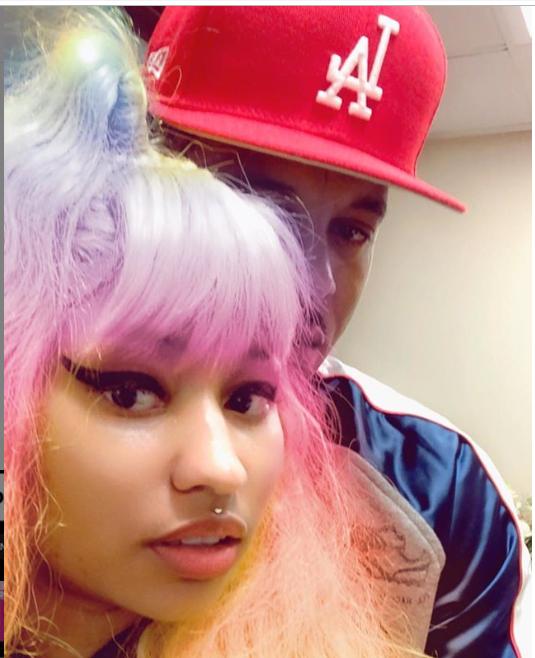 Nicki Minaj shares loved-up photos with her man ?Kenneth Petty (Photos)