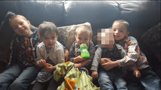 [Photos] Mum and dad arrested after 4 of their children died in a house fire