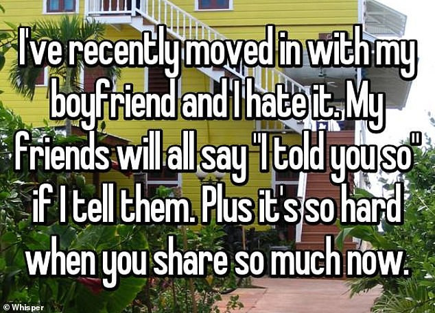 Couples reveal the ways their relationships changed for the worse when they started living with their partners (Screenshots)