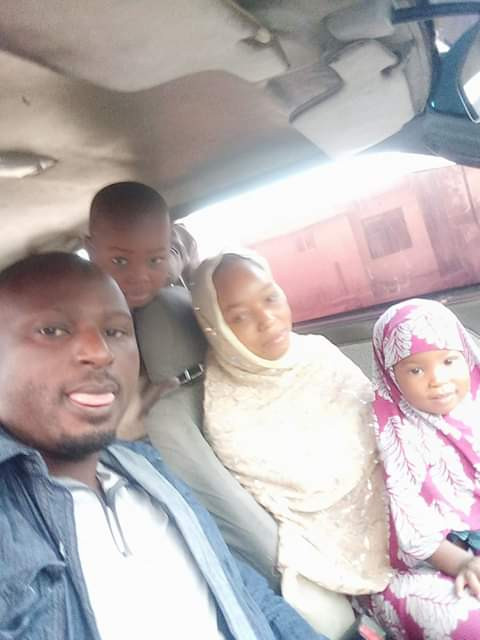 Photos: Pregnant woman and her two children burnt to death in house fire in Minna, Niger State