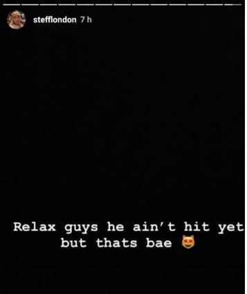Burna Boy shares loved up video in bed with British rapper, Stefflon Don and she confirms he