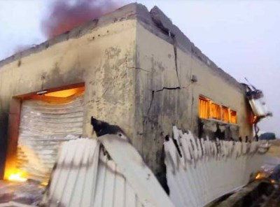 INEC confirms that 4,695 smart card readers got burnt in the Anambra State inferno