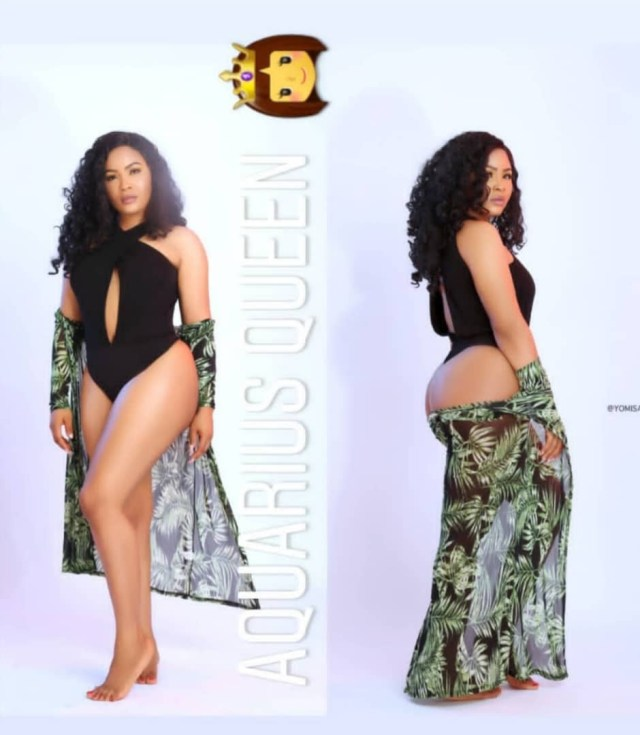 Actress Sharon Francis shows off her butt in sexy swimwear photos