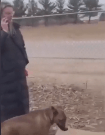 White woman calls police on black man because his dog humped her dog (video)