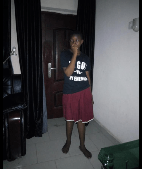 Househelp found one day after going missing in Lagos and will be sent back to her village after failing to reveal where she went