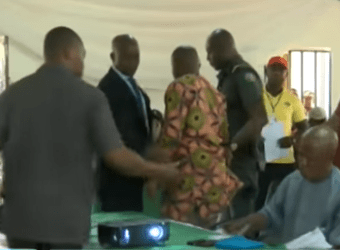 Photos: Two Electoral Officers in Imo arrested for altering results in their wards
