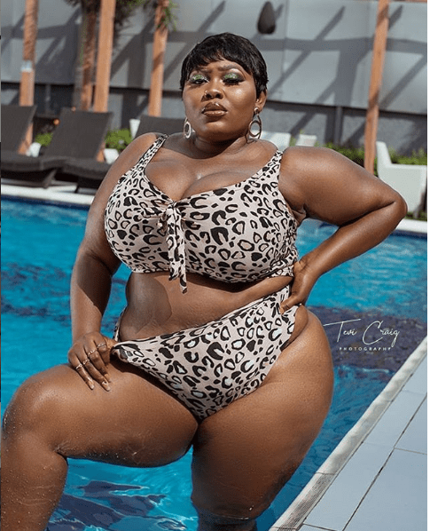 Nigerian Plus-sized model, Monalisa Stephen celebrates her birthday with eye-popping photos
