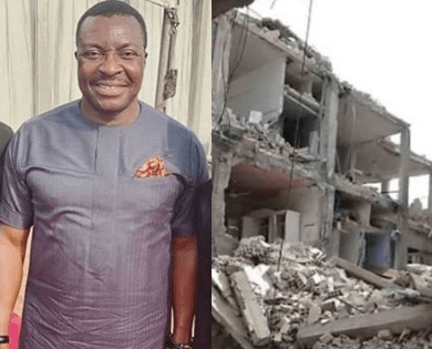 Alibaba believes the state government should not be held responsible for the Lagos school building collapse