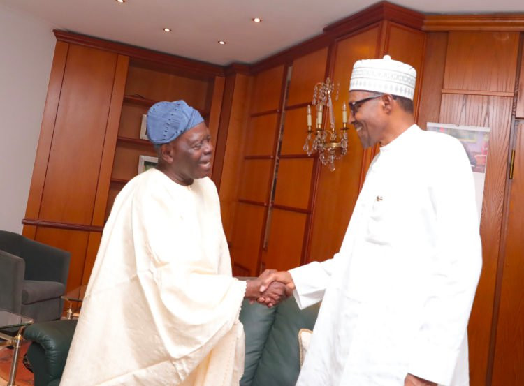 Photos: President Buhari receives Tinubu in Abuja