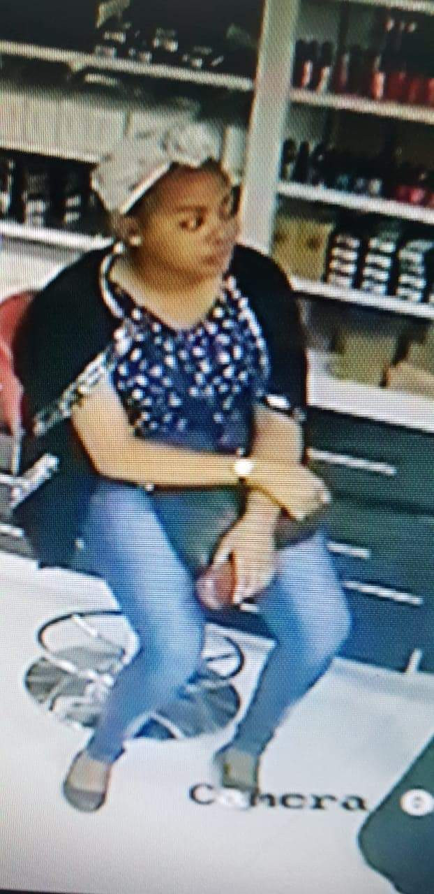 Videos: Pretty lady arrested three months after she stole a phone in a makeup store