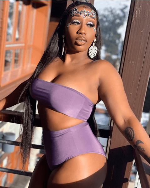 [Photos] Victoria Kimani shows off her hot body in sexy two-piece