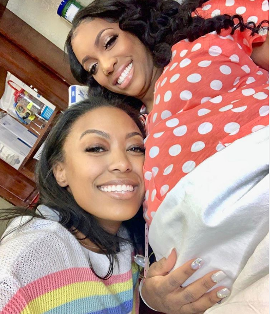 Reality star, Porsha Williams welcomes a baby girl with fiance Dennis McKinley