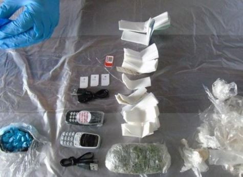Photos: How drugs, tobacco and mobile phones were smuggled into a UK prison stuffed inside dead rats