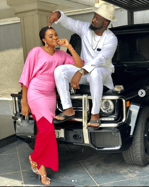 Adorable family photos of Jude Okoye, his wife and their daughter?