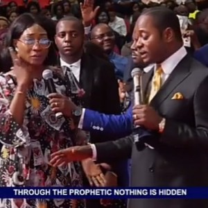 Freeze makes fun of Oge Okoye for visiting the church of controversial Pastor Lukau who staged a fake resurrection miracle(video