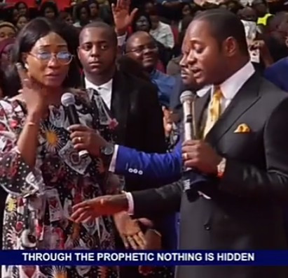 Freeze makes fun of Oge Okoye for visiting the church of controversial Pastor Lukau who staged a fake resurrection miracle(video)