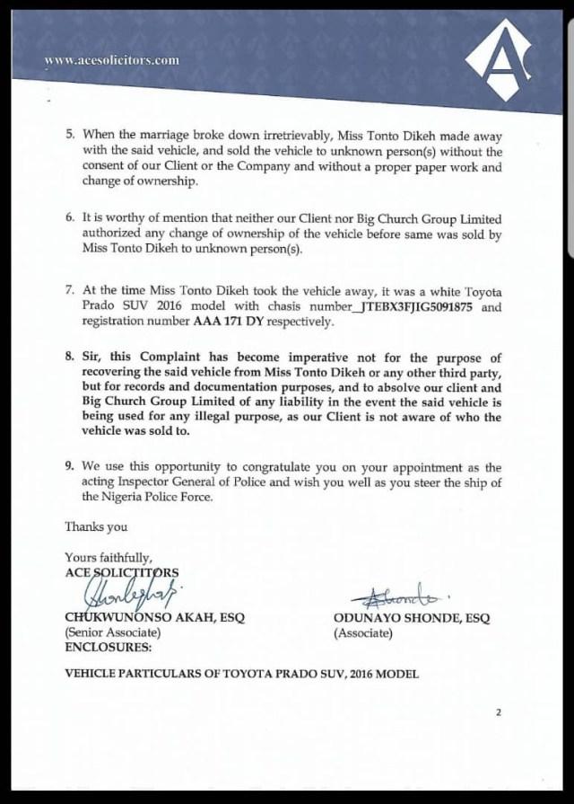 More Drama: Tonto Dikeh