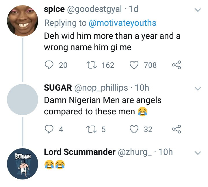 """Nigerian men are angels"" - Social media users say as women share the savage things Jamaican men have done to them"