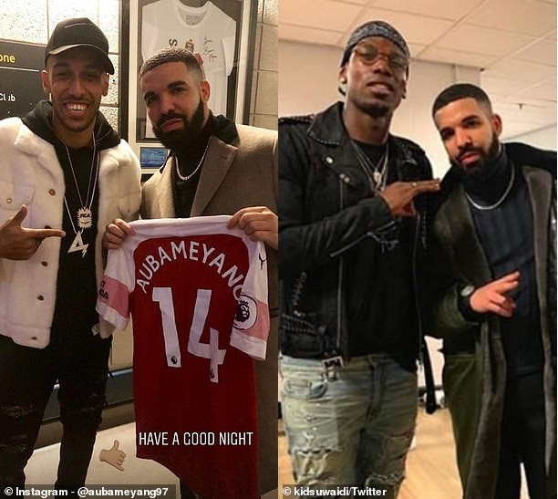 Football club Roma ban all players from taking pictures with Drake after PSG defender Kurzawa became latest victim of the