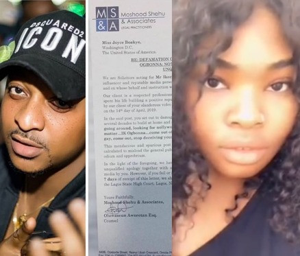 IK Ogbonna threatens lawsuit against Nigerian lady who called him gay and asked him to come out of the closet (video)