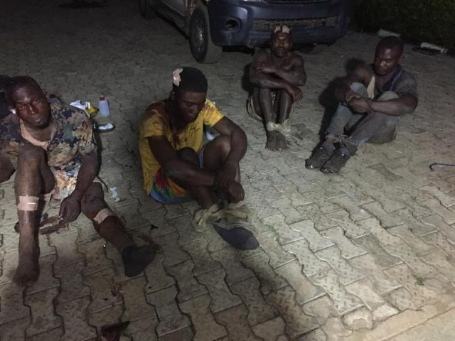 Photos: Troops arrest 5 kidnappers, rescue 5 hostages in Ondo