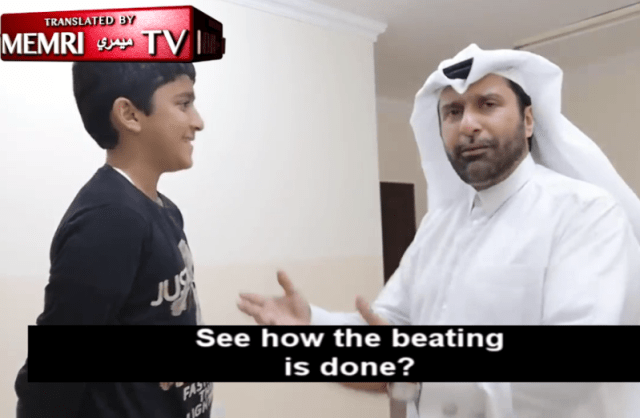 """""""She needs to feel you are a real man"""" - Qatari man films tutorial on how Muslim men should beat their wives"""