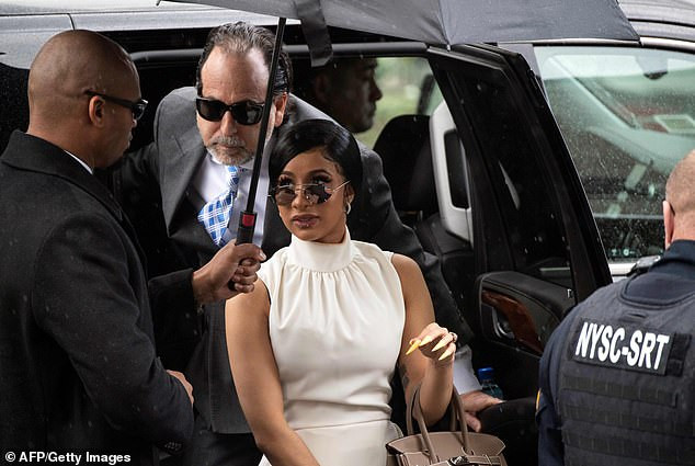 Cardi B arrives in court in $16,000 outfit as she rejects plea deal in strip club assault case?