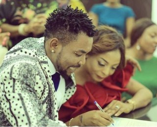 Oritsefemi and his wife celebrate second wedding anniversary