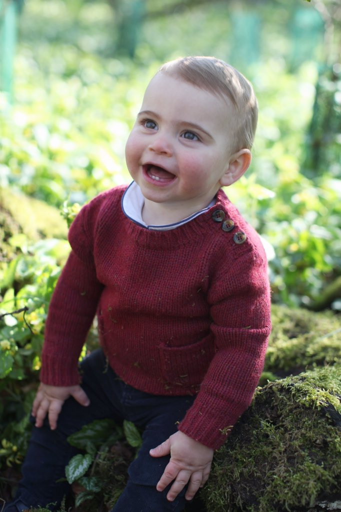 Royal Family releases new photos of Prince Louis to celebrate his first birthday?